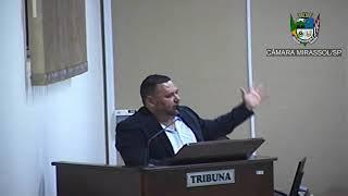 8ª Sessão Ordinária - Vereador Walmir Chaveiro