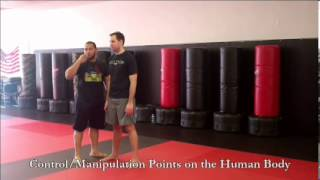 Self Defense 101:  Angles, Control Points, and Cut Points on the Human Body