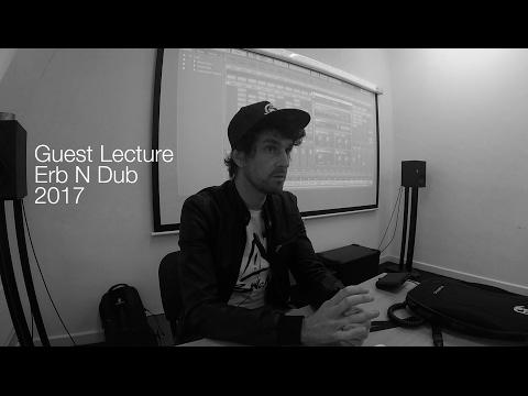 Erb N Dub Masterclass 2017 at dBs Music