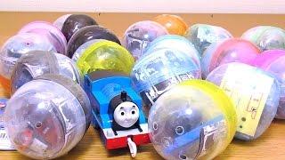 THOMAS & FRIENDS Shining Capsule Toy きかんしゃトーマスのキラキラカプセルプラレール thumbnail