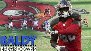 Breaking Down Why Shaq Barrett Will Win Defensive Player of The Year | Baldy Breakdowns