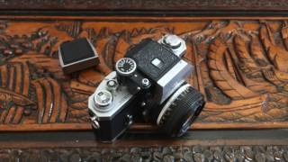 Nikon F Review and How to. Waist Level Viewfinder!!