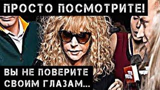 Что с Пугачевой? Усохла до состояния мощей! Фото, как есть