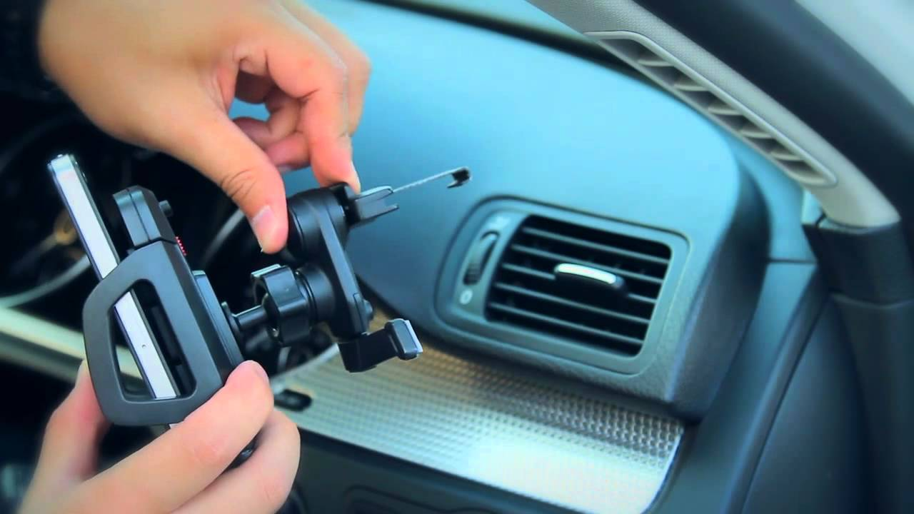 Capdase Car Air Vent Mount Holder Racer Youtube