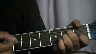 Woh Beete Din Yaad - Purana Mandir- Rock Version Complete Guitar step by step tutorial