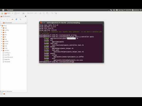 Ruby on Rails Tutorial Part 1 - Getting Started