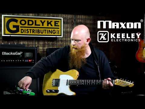 Maxon 40th Anniversary Keeley Modded OD808-40K Demo - Ray Suhy (Godlyke)