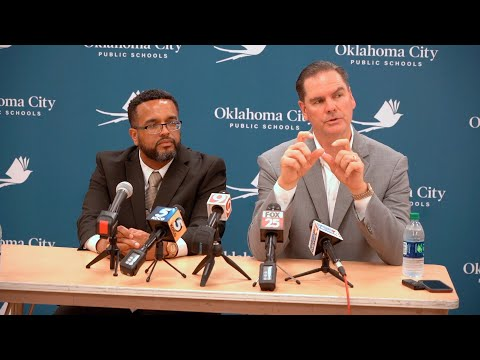 OKCPS Press Conf about John Marshall Middle School