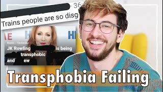 Reacting to Transphobes Failing