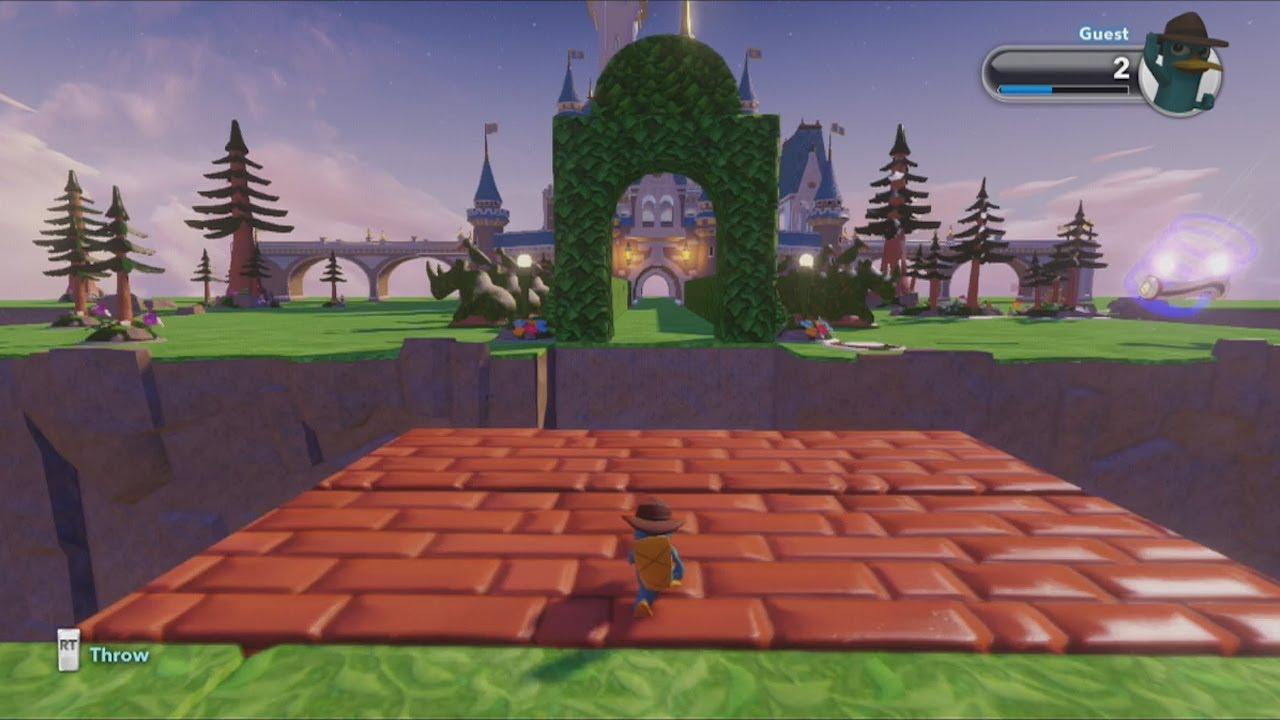 Disney Infinity Toy Box- Logic Ideas Pt. 1, Building Bridges - YouTube