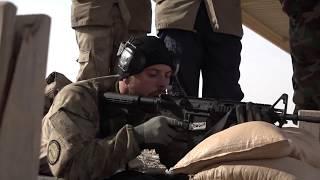 På skydebane med irakere