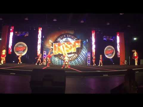 Elite Cheer at WSF