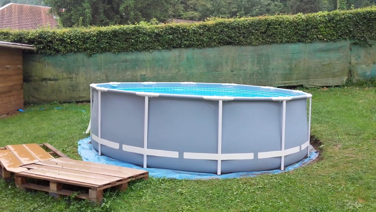 Piscine intex youtube for Piscine youtube