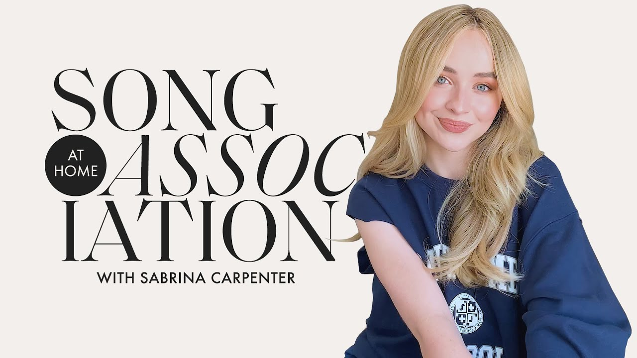 Sabrina Carpenter Sings Taylor Swift, Ariana Grande, & The 1975 in a Game of Song Association |