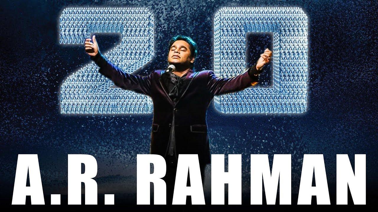 OFFICIAL: Enthiran 2.0 Album Songs| A.R.Rahman Reveals | TK - 547 ...