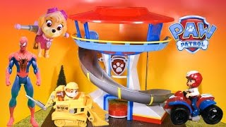 PAW PATROL Nickelodeon Paw Patrol Ruble Tells Knock Knock Jokes a Paw Patrol Video Toy Parody