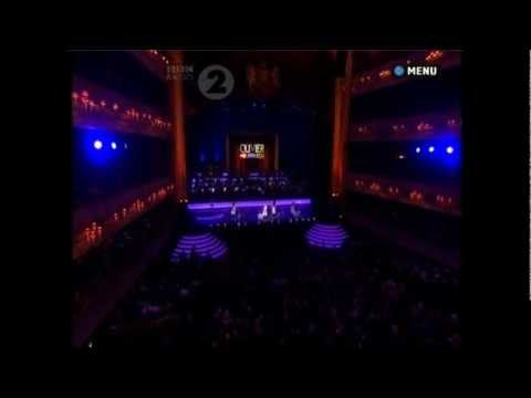 The Matildas perform at The Olivier Awards, 2012