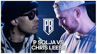 Chris Leese Vs P Solja | Premier Battles | Rap Battle