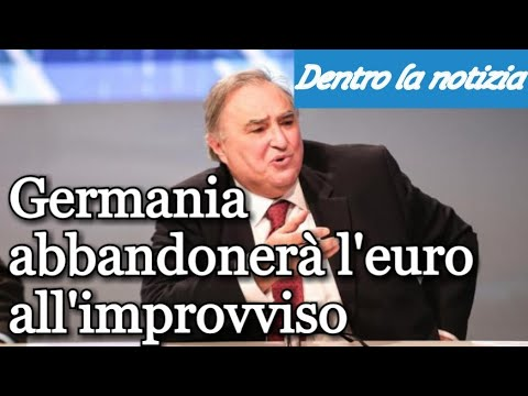 Petizione del Giurista Maddalena contro il MES! Sapelli: La Germania lascerà l'euro all'improvviso!
