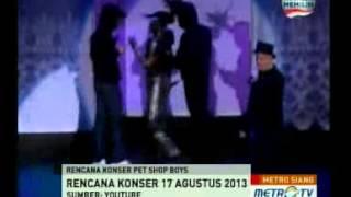 Pet Shop Boys akan Konser di Jakarta?