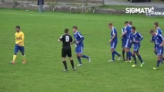 SK Sigma Olomouc U19 - FK Teplice U19 2:0