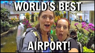 TRAVEL VLOG | OUR FAVOURITE AIRPORT! (BANGKOK - SINGAPORE - CEBU) - DAYS 189 - 190