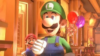 Luigi's Mansion 3 - Intro Cutscene + New Story Footage Trailer