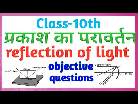 class 10th physics भौतिकी प्रकाश के परावर्तन objective question || प्रकाश का परावर्तन ॥ r2c academy