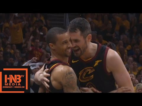 Cleveland Cavaliers vs Toronto Raptors 1st Half Highlights / Game 4 / 2018 NBA Playoffs