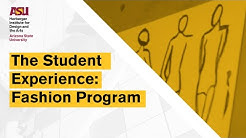 The Student Experience Fashion Program at ASU