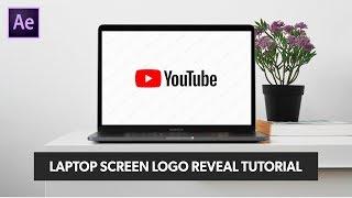 Erstellen Sie Laptop-Bildschirm-Logo Reveal-Animation in After Effects - After Effects Tutorial | Keine Plugins