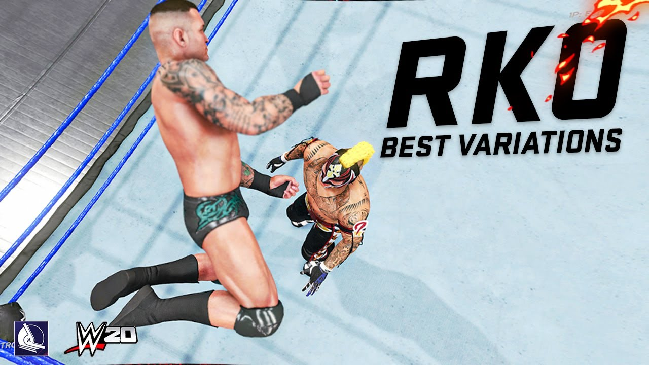 10 Best Randy Orton Rko Variations Animations In Wwe 20 Youtube