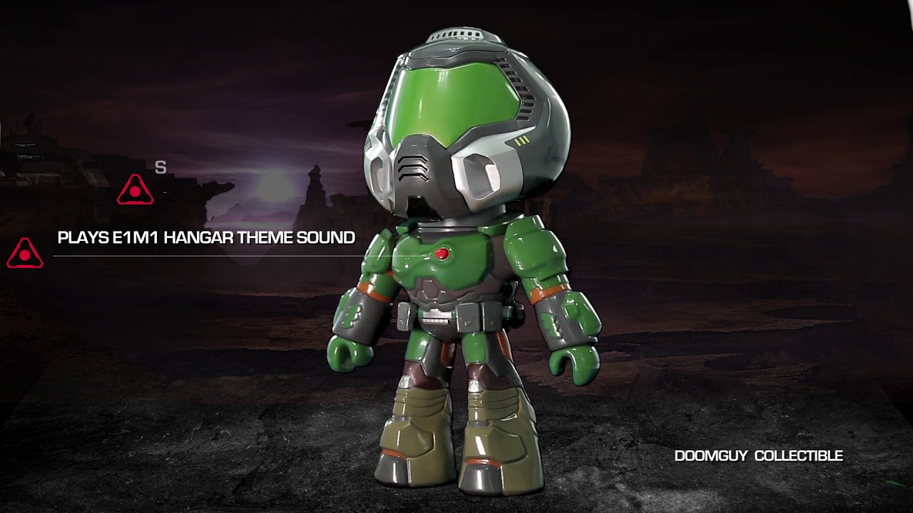 The Doom Doomguy Collectible Is Now Available At Gamingheads Com