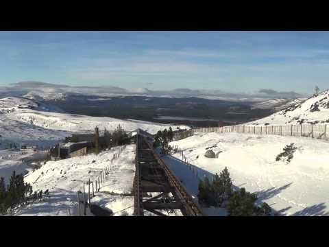 Skiing on Cairngorm Mountain, Aviemore