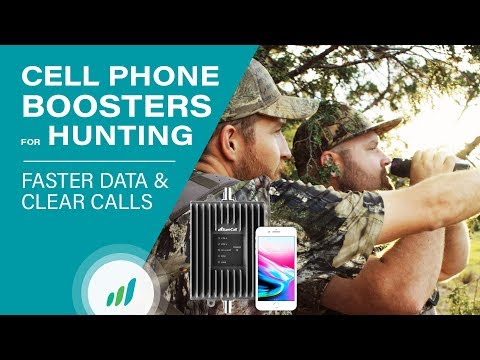 Cell Phone Signal Boosters For Hunting | SureCall