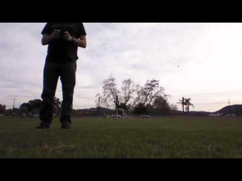 First attempt at outdoor AR.Drone 2.0 Flight