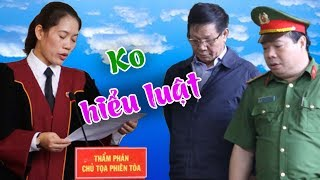 Ko công bố bản án vụ Phan Văn Vĩnh-lập tức đình chỉ chủ tọa Ng.Thùy Hương vì ko biết luật