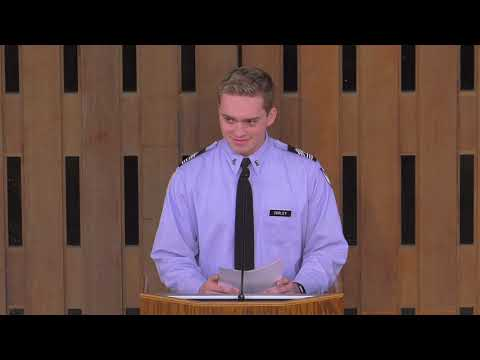 Alex Farley Saint Thomas Academy Senior Speech