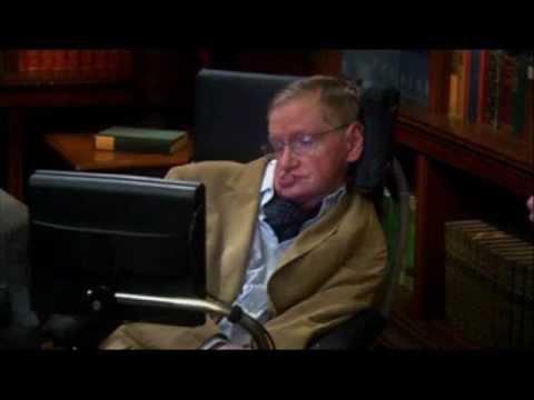 Sheldon Cooper Meet Stephen Hawking - The Big Bang Theory