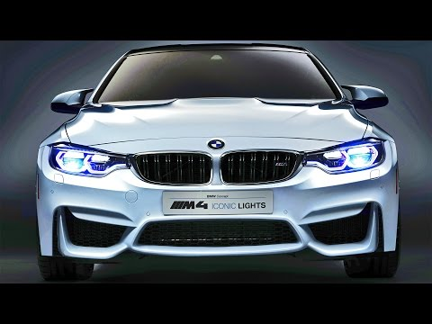 BMW M4 Concept Iconic Lights - LASER OLED Technology