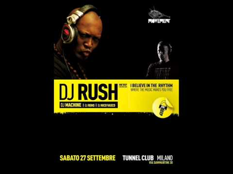 DJ Rush @ Movement Birthday Party, Tunnel Milano - 27.09.08 - Part 1/2