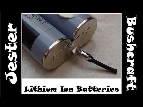 Lithium-Ion Batteries - Salvage & Testing