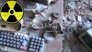 Pripyat / Prypeć: Szkoła, Basen, Jupiter, Fujiyama - Wstępna Eksploracja - Czarnobyl Vlog #08