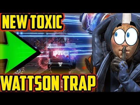 WATTSON TRAP TROLLING ROOM GLITCH: APEX LEGENDS [ Season 2]