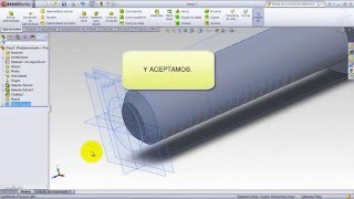 TORNILLO ROSCADO SOLIDWORKS HD