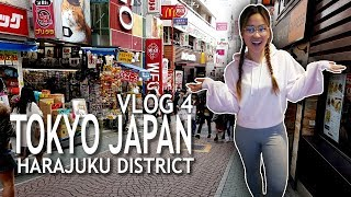 JAPAN VLOG 4 | SHOPPING IN HARAJUKU