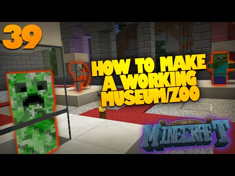 How To Minecraft | #39 | How To Make a Zoo in Minecraft | Mob Museum FINALE (How To Minecraft SMP)