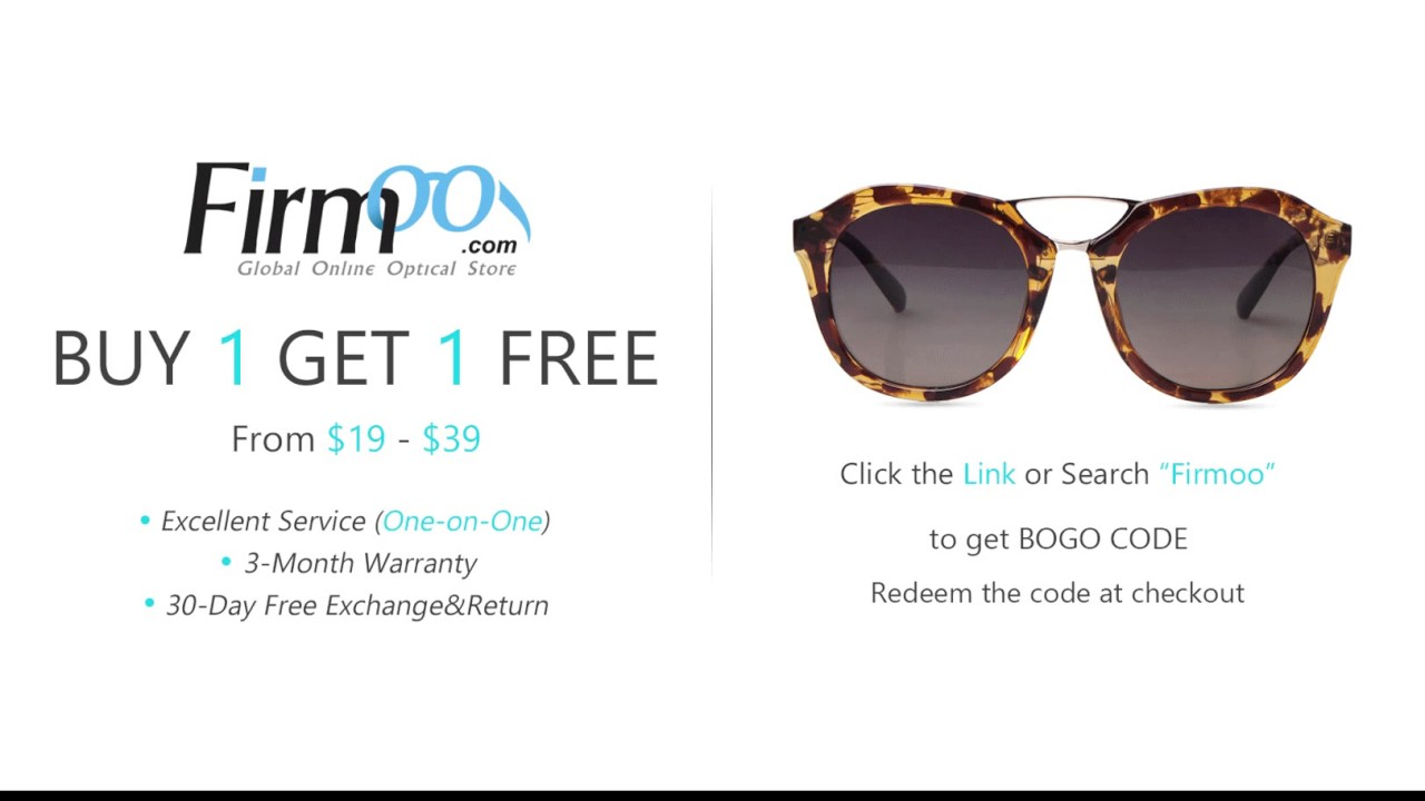87d19d2aa578 Buy One Get One Free | Firmoo.com - Cheap Prescription Glasses/Sunglasses  Online