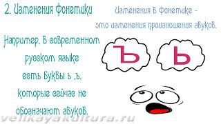 Русский язык как развивающееся явление - исторические изменения в языке