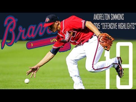 Andrelton Simmons | Atlanta Braves | 2015 Defensive Highlights Mix | HD